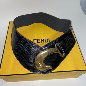 VERDEJO leather VINTAGE belt